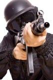 Spiel an den Soldaten Lizenzfreie Stockfotos
