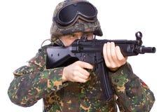 Spiel an den Soldaten Stockbilder