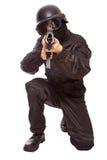 Spiel an den Soldaten lizenzfreies stockfoto