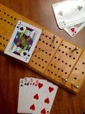 Spiel der Cribbage Lizenzfreies Stockfoto