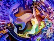 Spiel der inneren Farbe Stockfoto