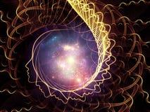 Spiel der Seele und des Verstandes Stockbild