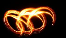 Spiel des Lichtes Lizenzfreies Stockfoto