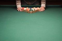 Spiel des Pools (Billiard) stockfoto