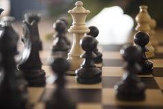 Spiel des Schachs Stockfoto