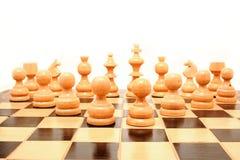 Spiel des Schachs Lizenzfreies Stockfoto