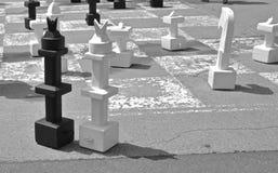 Spiel des Schachs Lizenzfreie Stockbilder