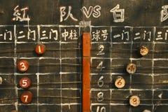 Spiel des traditionellen Chinesen Lizenzfreie Stockbilder