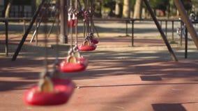 Spiel euipment am Park in Tokyo stock video footage