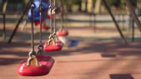 Spiel euipment am Park in Tokyo stock video