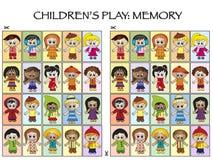 Spiel für Kinder Stockfotografie