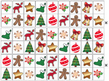 Spiel für Weihnachten stock abbildung