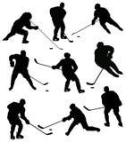 Spiel im Hockey Stockfotos