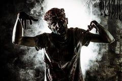 Spiel im Zombie lizenzfreie stockbilder