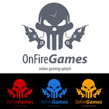 Spiel-Logo Lizenzfreie Stockbilder