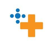 Spiel Logo Design Concept Stockbilder
