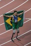 Spiel 2012 Londons Paralympic stockbild