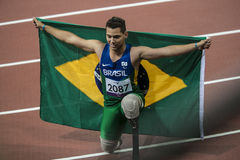 Spiel 2012 Londons Paralympic Stockfotografie