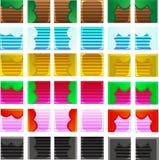 Spiel-Plattform-Satz Lizenzfreie Stockbilder