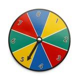 Spiel-Rad Stockfotos