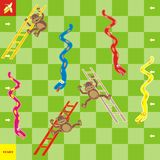 Spiel-Schlangen lizenzfreie abbildung