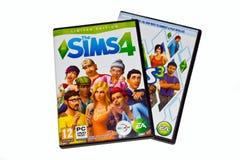 Spiel Sims 4 stockfoto