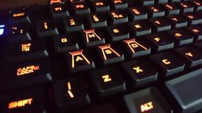 Spiel-Tastatur lizenzfreies stockbild