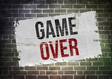 Spiel vorbei Stockbilder