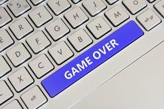 Spiel vorbei Lizenzfreies Stockfoto