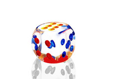 Spiel-Würfel Stockbild