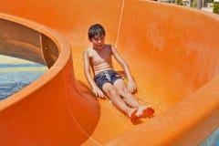Spiel-Zeit in Aqua Toy City, die Türkei Lizenzfreies Stockfoto