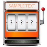 Spielautomat Lizenzfreie Stockfotografie