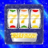 Spielautomat lizenzfreie abbildung