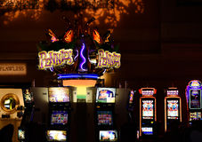 Spielautomat Las Vegas stockfoto