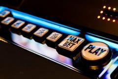 Spielautomat-Spiel Lizenzfreies Stockfoto