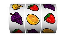 Spielautomat - Trippelbarre-Sieger stock abbildung