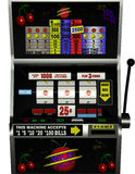 Spielautomat-wilde Frucht Lizenzfreies Stockfoto