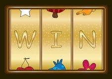 Spielautomat Win_eps Stockfotos