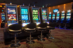 Spielautomaten Stockfoto