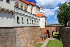 Spielberg castle in Brno, Czech republic Stock Image