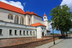 Spielberg castle in Brno, Czech republic Royalty Free Stock Photography