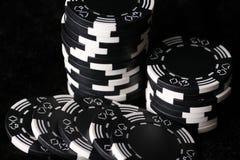 Spielchips Stockfoto
