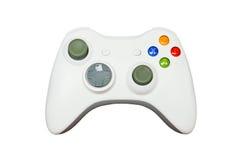 Spielcontroller auf weißem Hintergrund Lizenzfreie Stockbilder