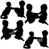 Spiele der Kinder Stockfoto