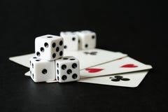 Spiele des Glücks Stockbilder