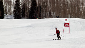Spiele des Winter-TEVA Mointain Stockfotografie