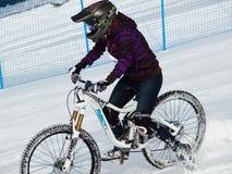 Spiele des Winter-TEVA Mointain Stockfotos