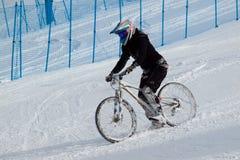 Spiele des Winter-TEVA Mointain Lizenzfreies Stockfoto