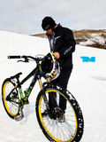 Spiele des Winter-TEVA Mointain Stockbild