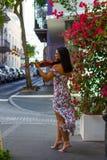 Spielen in altem San Juan Stockbilder